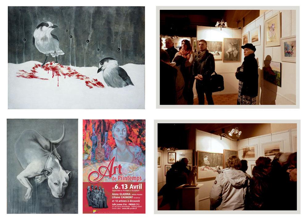 2014 - ART DE PRINTEMPS- PRESLES - Val d'Oise