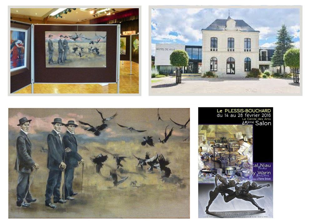 2016- CERCLE DES ARTS- LE PLESSIS BOUCHARD -  Val d'Oise