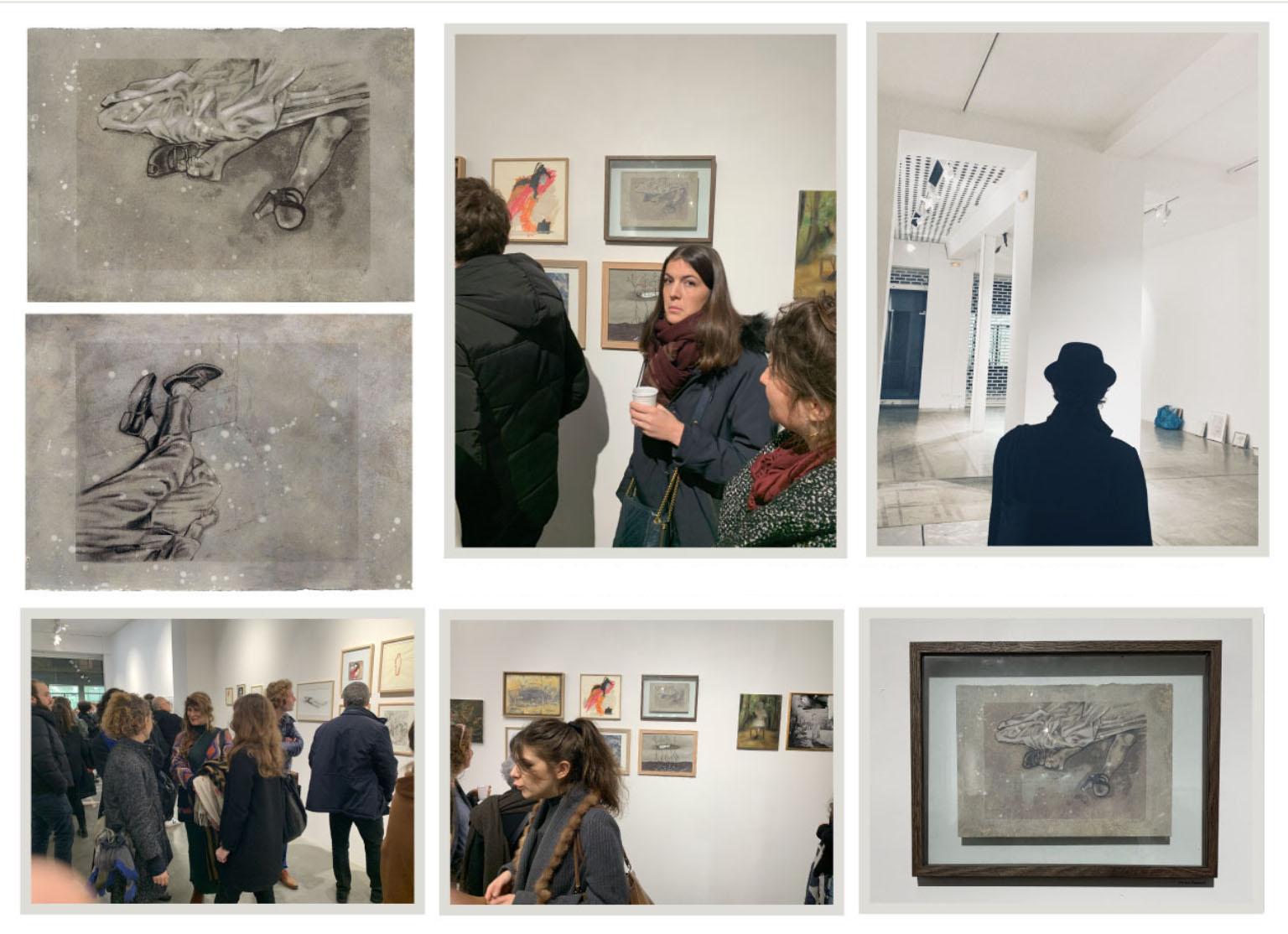 2020 - salon de la mort - galerie bertrand grimont - PARIS