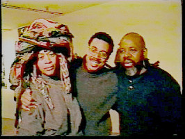 "Chakaia Booker, Michael Richards, Colin Chase at the Studio Museum in Harlem, ""Passage"" Show, 2000"