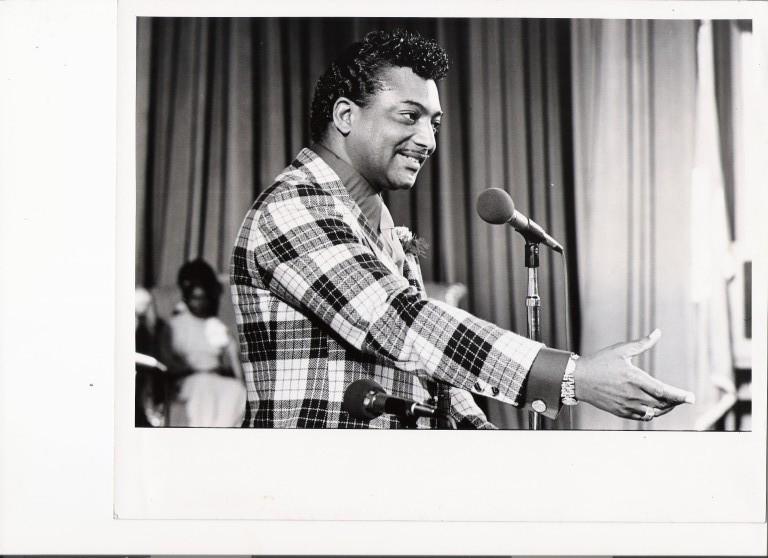 Rev. Ike / image by Winston Vargas