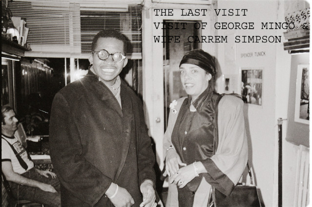 THE LAST VISIT OFGEORGE MING & CARREM SIMPSON