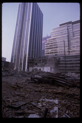the rise of time life bldg 1971