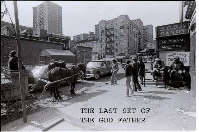 THE LAST GOD FATHER SET ON 6TH ST