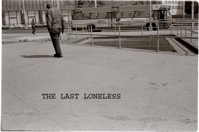 THE LAST LONELY MAN IN BATTERY PARK