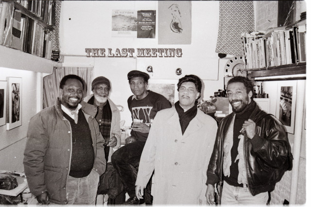 THE LAST GATHERING OF GREAT BLAK ARTIST@ 4TH ST