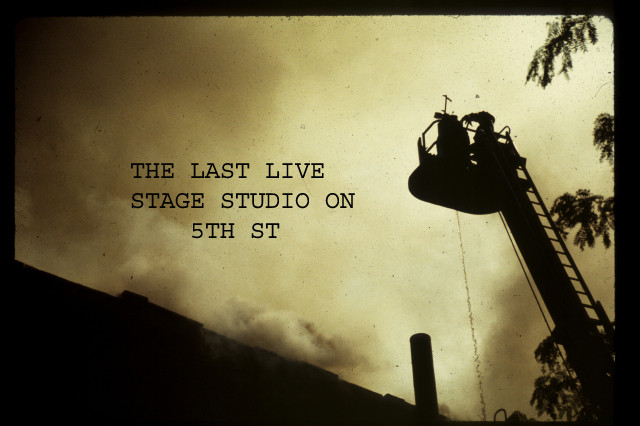 THE LAST SOUND STAGE ON 5TH STREET