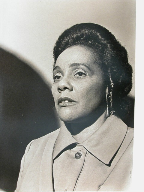 CORETTA KING 1972