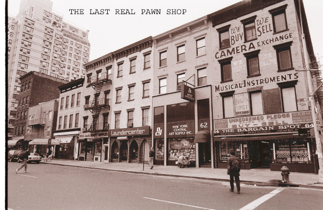 THE LAST LARGE CAMERA PAWN SHOP ON 3RD AVE