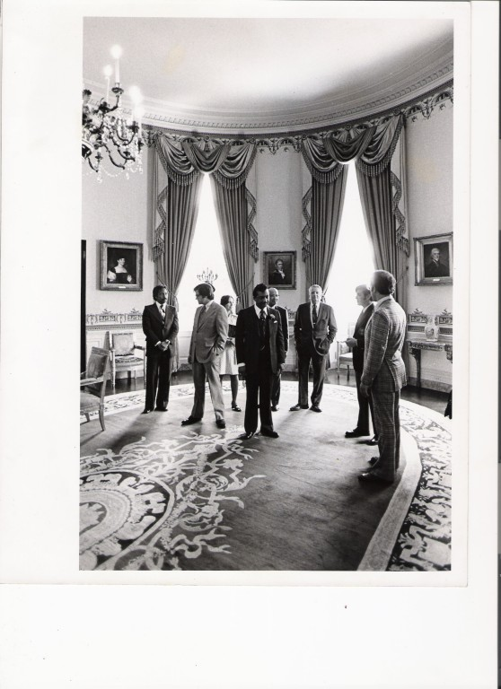 Rev. Ike at White House/ image by Winston Vargas