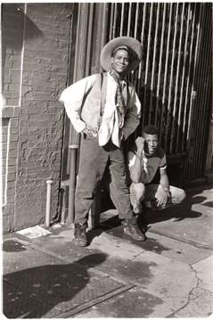 Basquiat, East Village, 1985