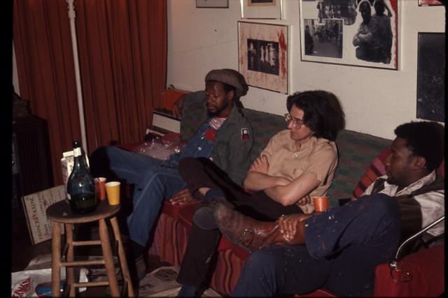 minority photo meeting, abe morrel,1971