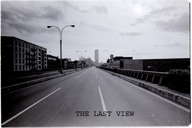 THE LAST VIEW FROM THE WEST SIDE HIGHWAY