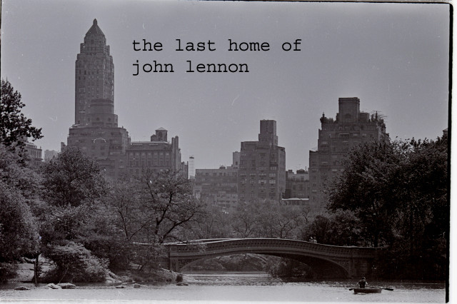 THE LAST HOME OF JOHN LENNON