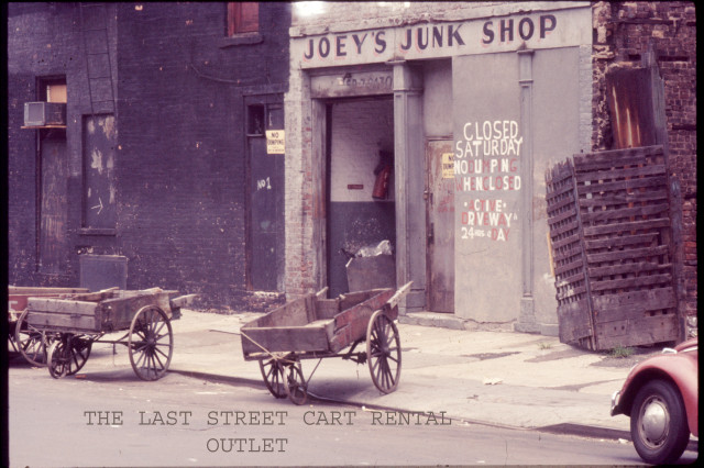 THE LAST PUSH CART RENTAL OUTLET ON 2ND ST