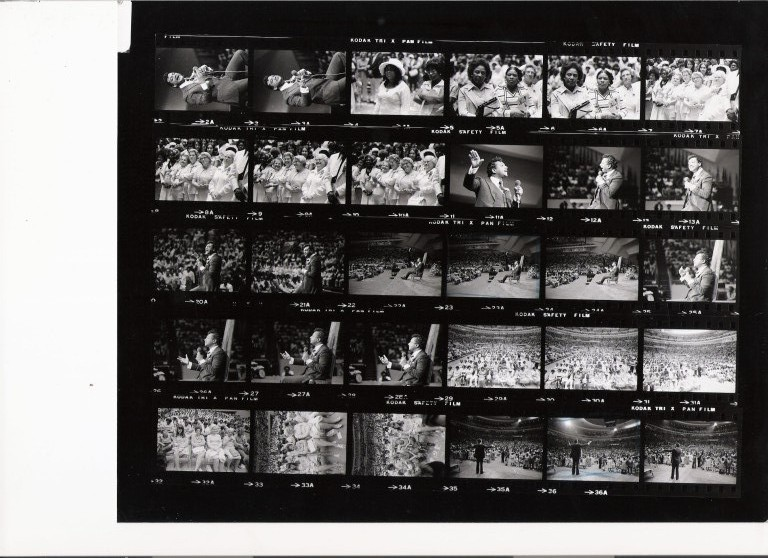 Rev. Ike ceremony in Detroit, 1975 / images by Winston Vargas