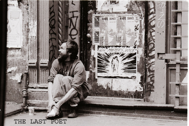 THE LAST POET OF THE LOWER EASTSIDE