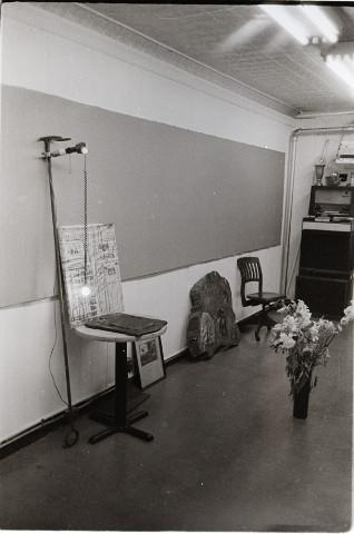 installation by alex harsley, 2000