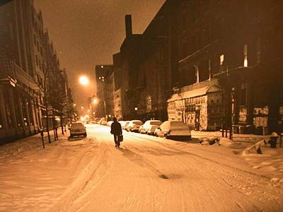 After The Storm, East Forth Street, 1996