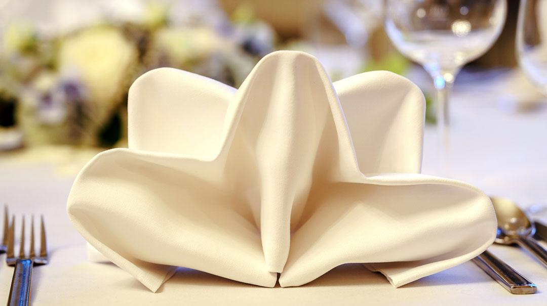 Wir beraten Sie und arrangieren Ihre Tischdekoration