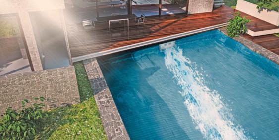 S&K GmbH Whirlpool - Pooltechnik - Eine Gegenstromanlage im Betrieb