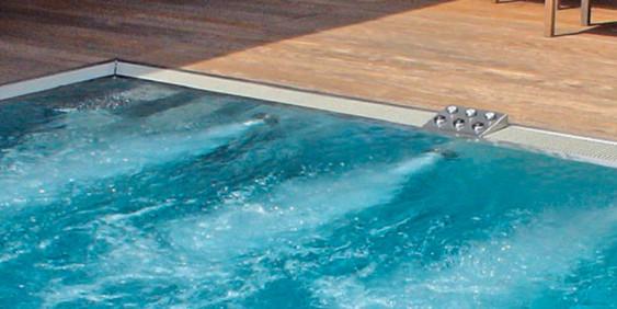 SK-Whirlpool - Gegenstromanlage im Betrieb I