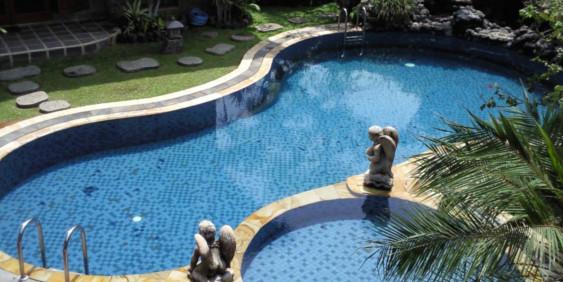 S&K GmbH Whirlpool - Pool / Schwimmbecken im Garten mit kleinem Pool