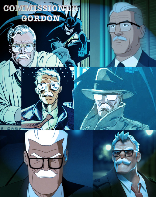 Commissioner Gordon and Batman are each a trademark character of DC Comics