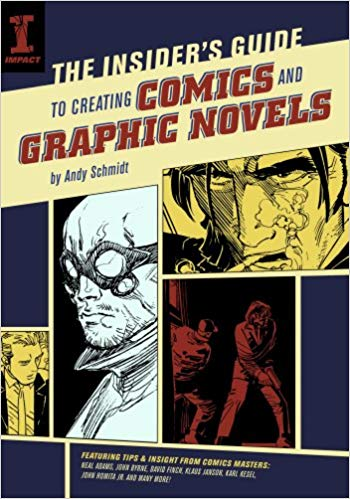 "Comics really are a balancing act between prose and images. ""The Insider's Guide To Creating Comics And Graphic Novels"" by Andy Schmidt describes how to balance these elements well and how to lay them out."