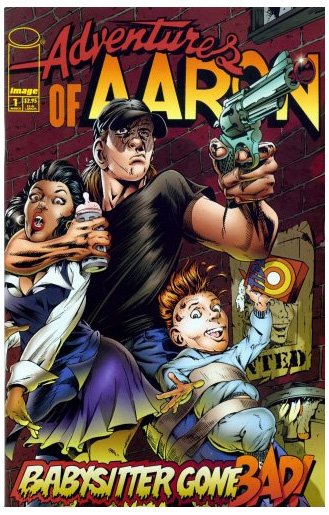 Before establishing www.CartoonistForHire.com one of Aaron Warner's creations was Adventures of Aaron, which in addition to an Image comic series, was also a syndicated newspaper comic strip, stage musical and even one of the first interactive CD-Roms.
