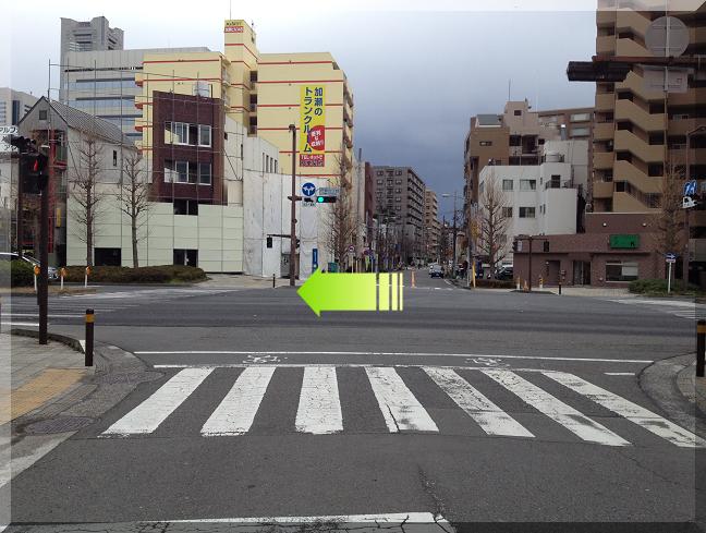 国道一号線(戸部7丁目交差点)