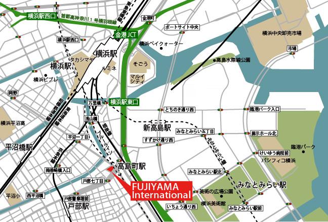 FUJIYAMA International所在地