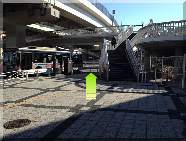 横浜駅 国道一号線
