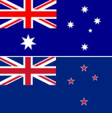 オーストラリアとニュージーランド国旗の違い 格安英語留学のfujiyama