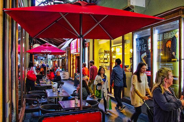 世界有数のカフェの街としても知られている
