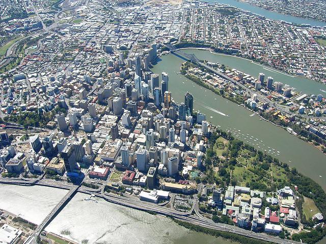 オーストラリア第三の都市ブリスベン