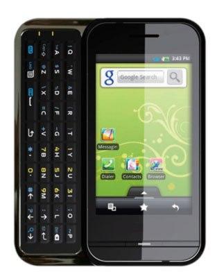 Highscreen Zeus - Russlands erstes Android-Smartphone mit einer Qwerty-Tastatur