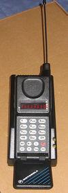 Eines der ersten Modelle von Handys Motorola