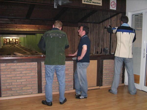 Kleinkaliber Auflage mit Roland, Bodo und Lars