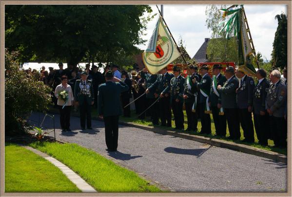 Schützenfest 2008: Antreten in der Residenz
