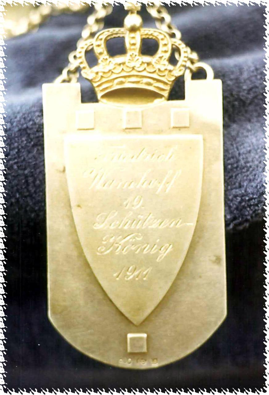 1911 Friedrich Wamhoff - Pauline Ahlemeyer