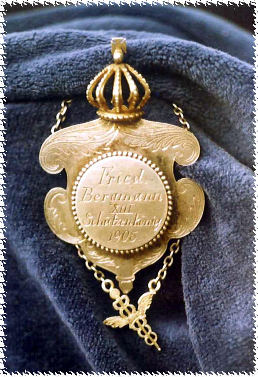 1905 Friedrich Bergmann - Lina Volbert