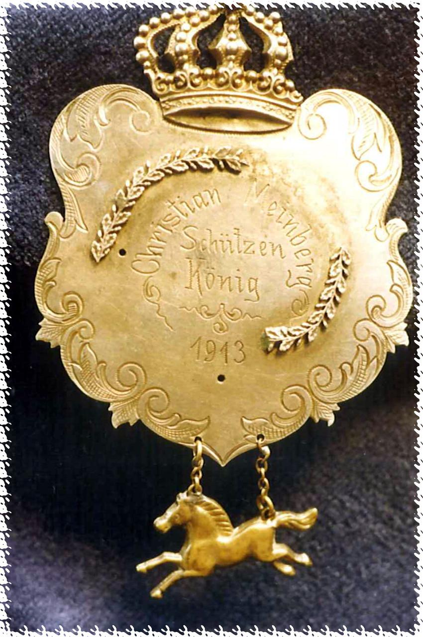 1913 Christian Meinberg - Jenny Bode