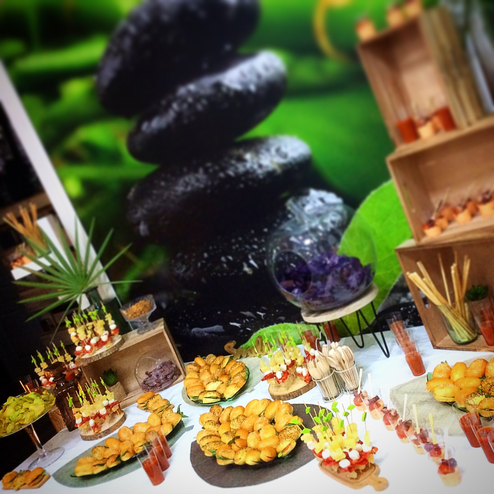 Buffet Cocktail inauguration Entreprise