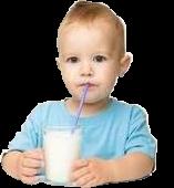 Du lait et des produits laitiers