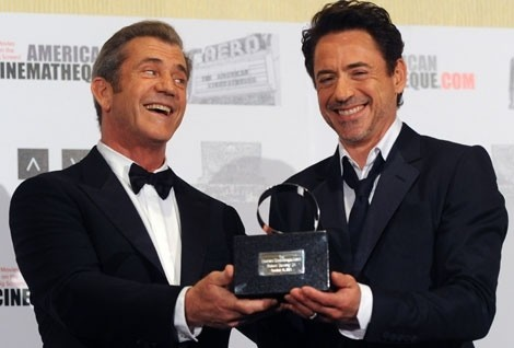 Mel Gibson & Robert Downey Jr