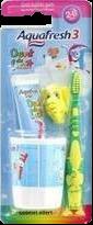 Le kit de brossage Aquafresh Popsy