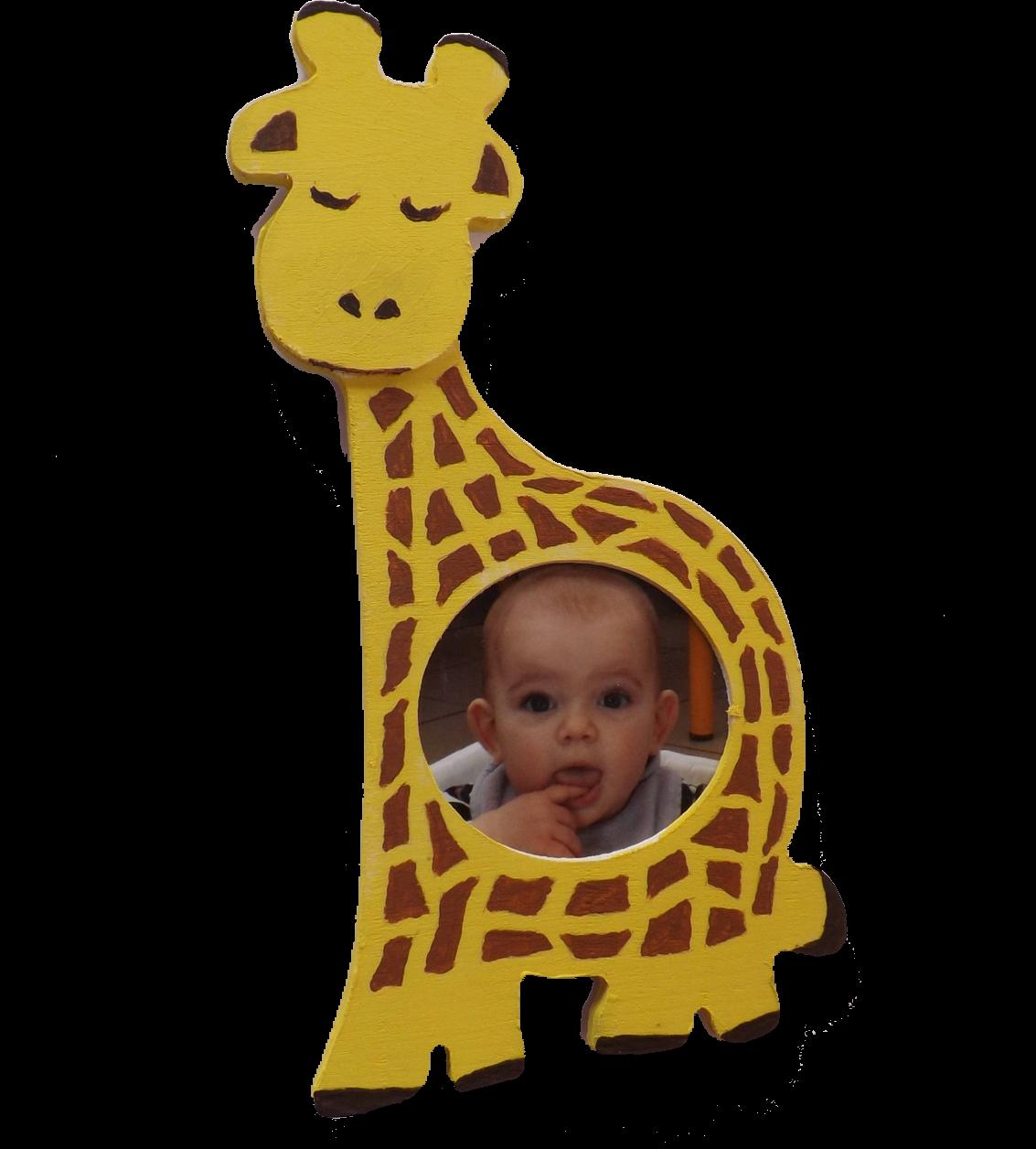 Porte-photo Girafe
