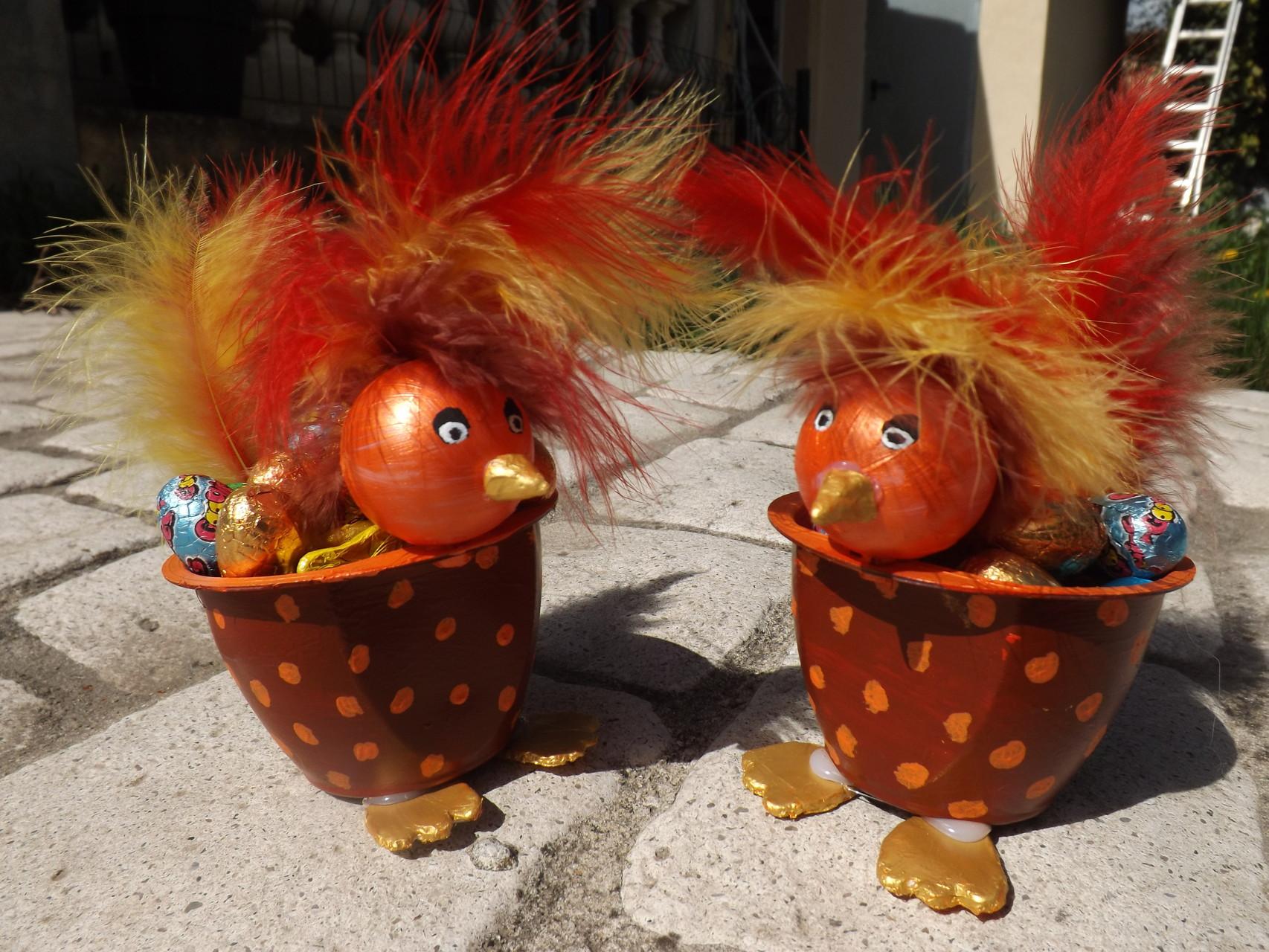 Cocottes de Pâques