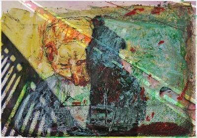 15/02/14 nr.1 mixed media auf photopapier 270g / original: 21cm x 29,7cm
